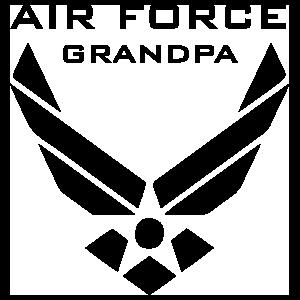 US Air Force Logo Grandpa Sticker
