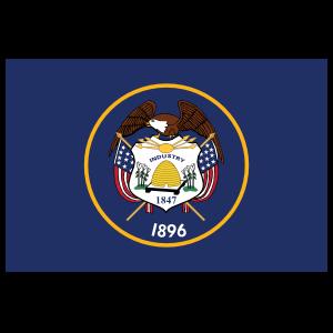 Utah Ut State Flag Magnet