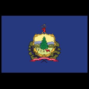 Vermont Vt State Flag Magnet