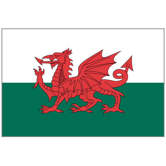 Wales Flag Sticker