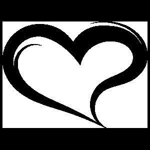 Wavy Heart Sticker