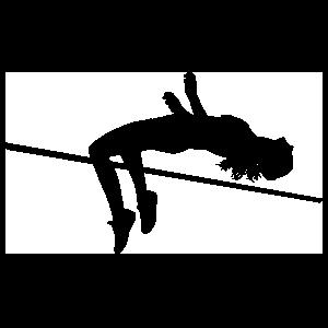 Women's High Jump Sticker