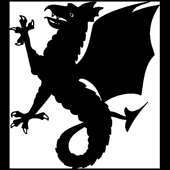 Wyvern Dragon Sticker