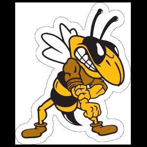 Yellow Jackets Mascot Sticker