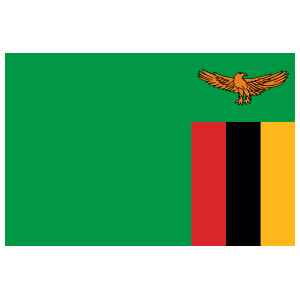Zambia Flag Sticker
