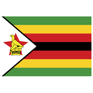 Zimbabwe Flag Sticker