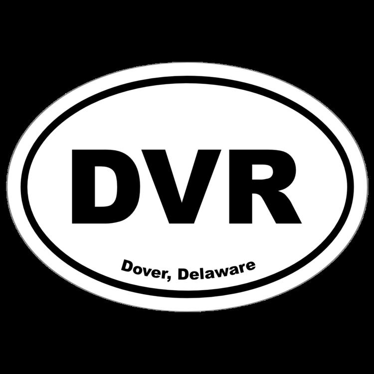 Dover, Delaware Oval Stickers