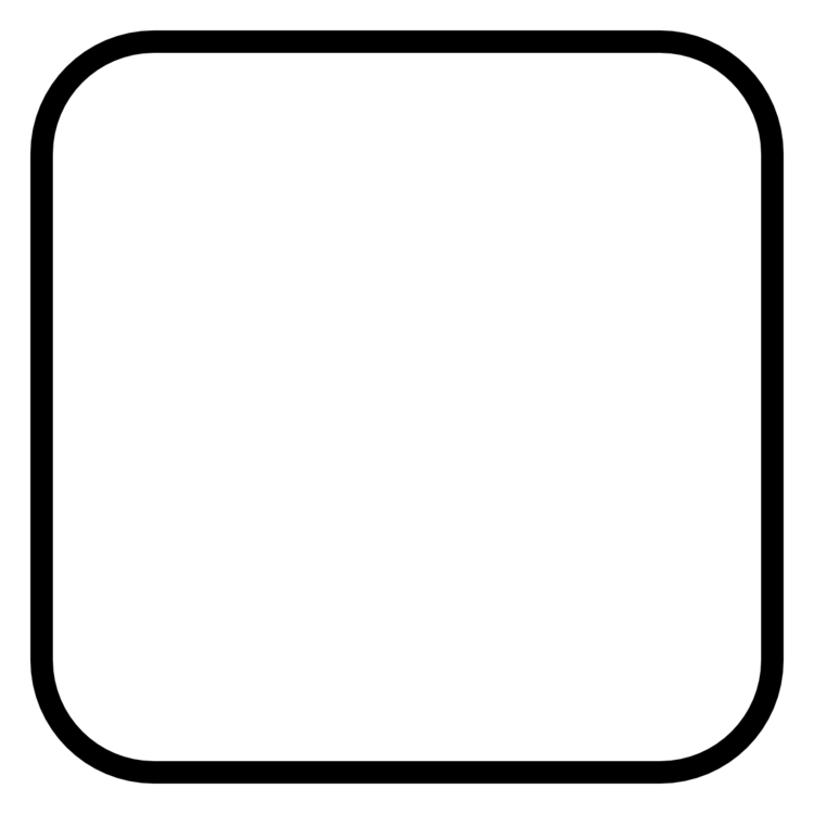 Rounded Rectangle Sticker with Your Text