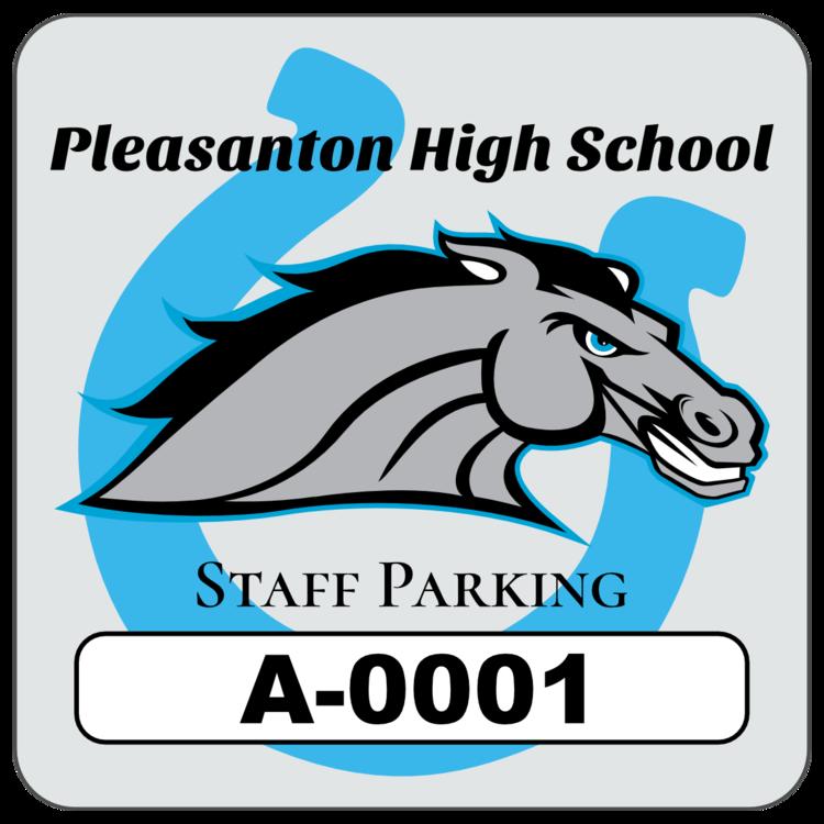 Horseshoe Square School Parking Permit Sticker