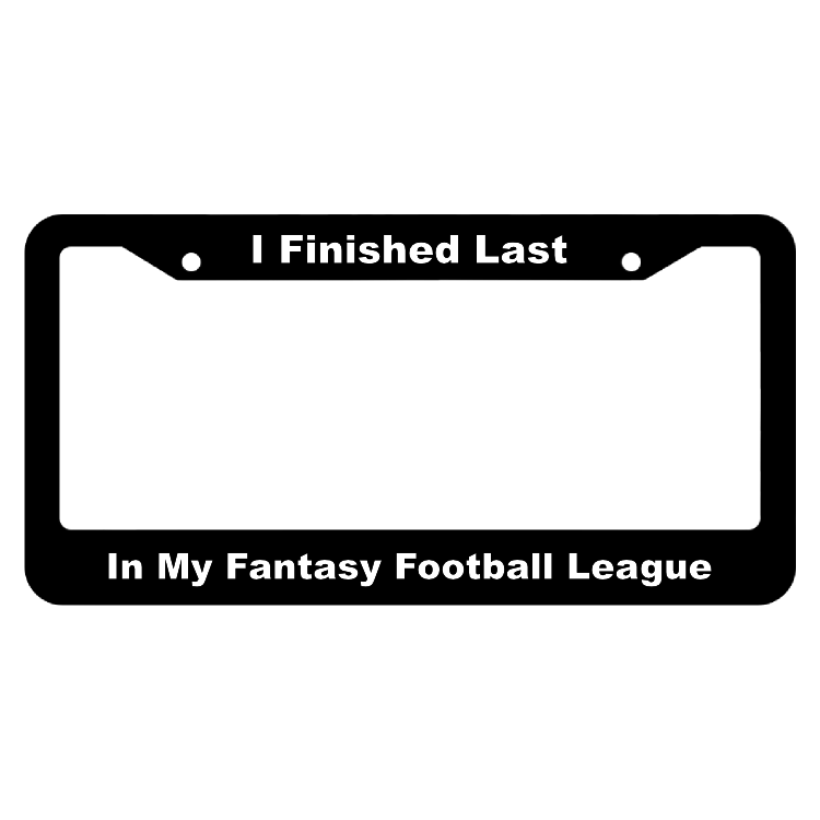 I Finished Last In My Fantasy Football League