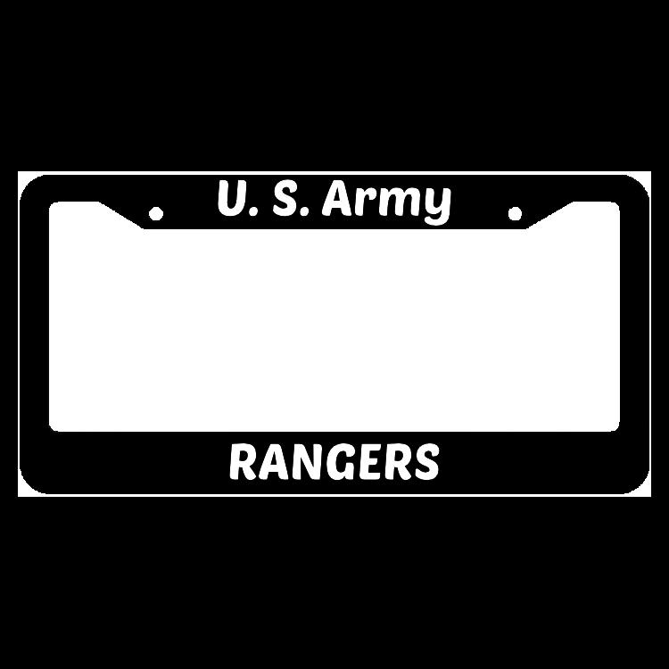 U.S. Army Rangers License Plate Frame