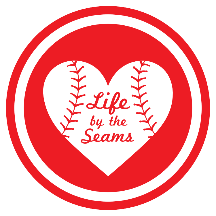 Custom Life by the Seams Circle Sticker