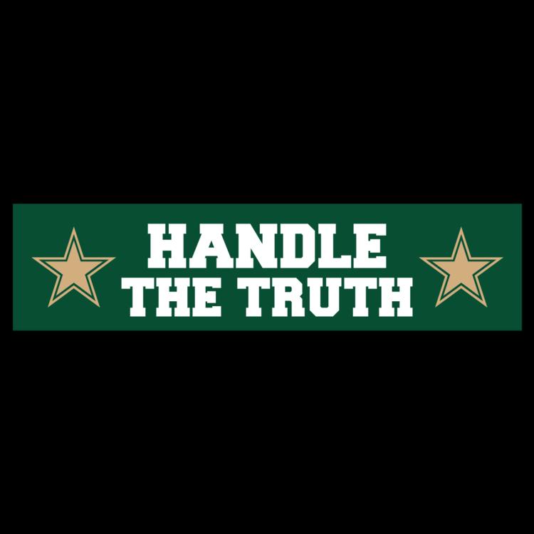 Handle The Truth Customizable Bumper Sticker