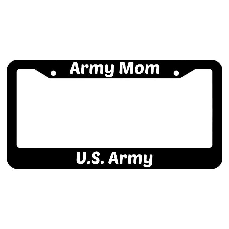 Army Mom United States Army License Plate Frame
