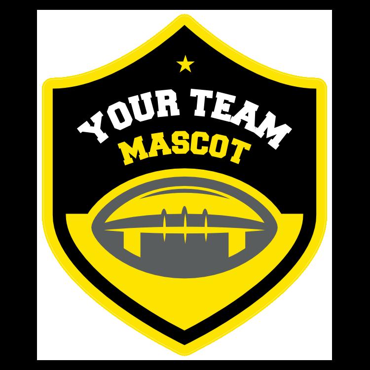 Custom Football Shield