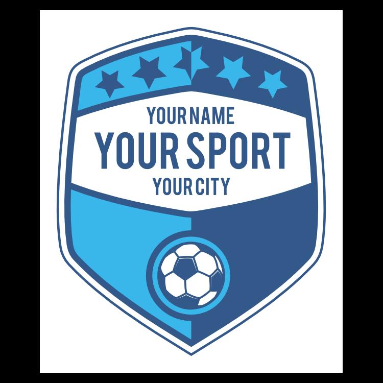 Custom Retro Soccer Sign Sticker