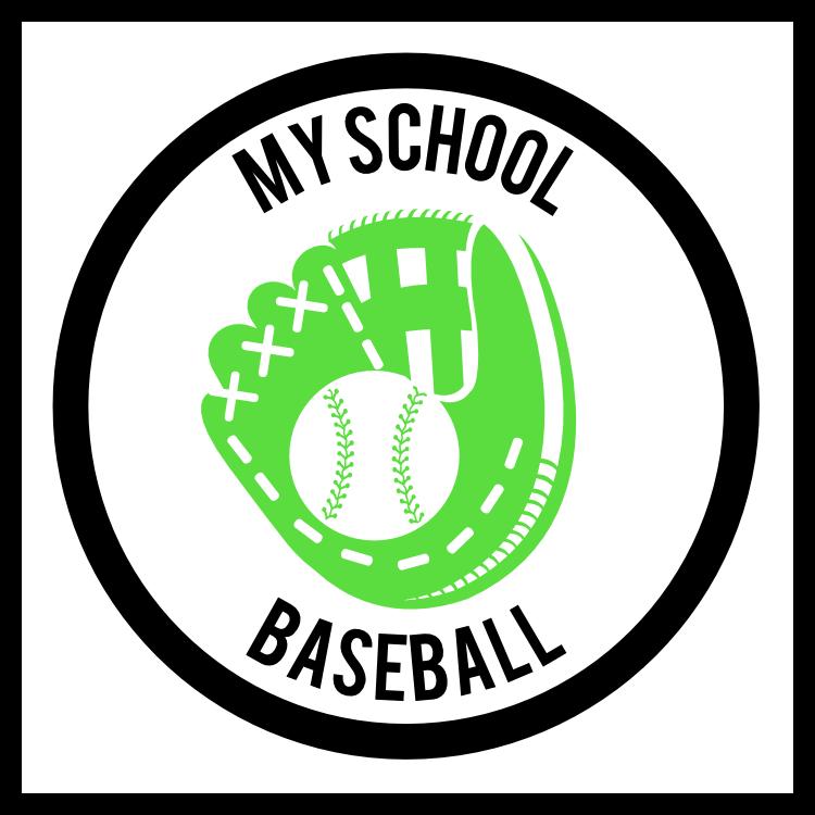 Custom Baseball Mitt Circle Magnet