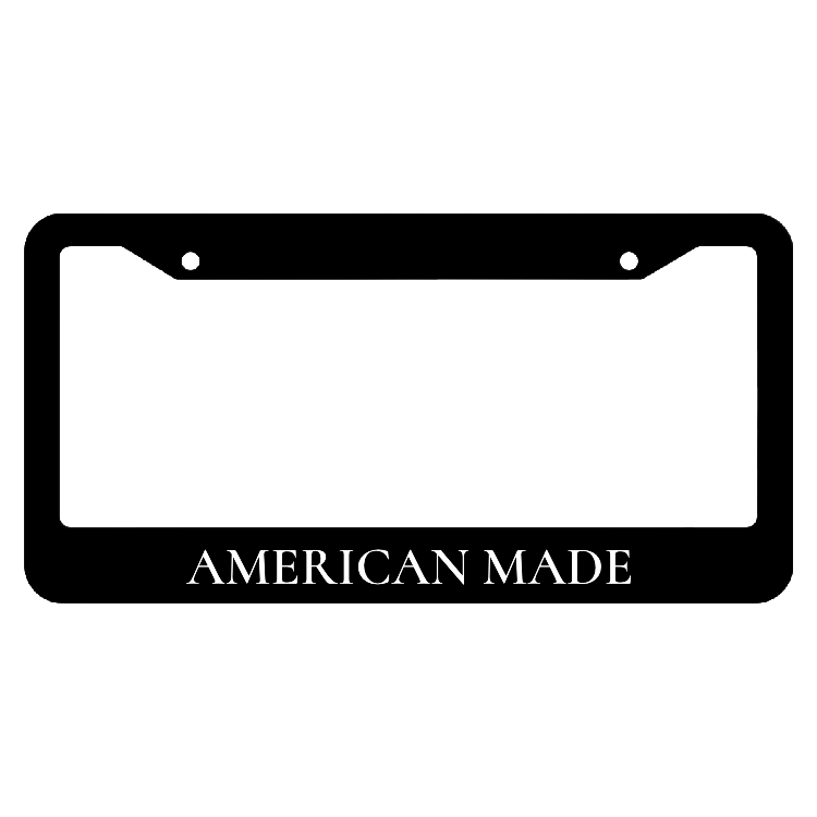 American Made License Plate Frame