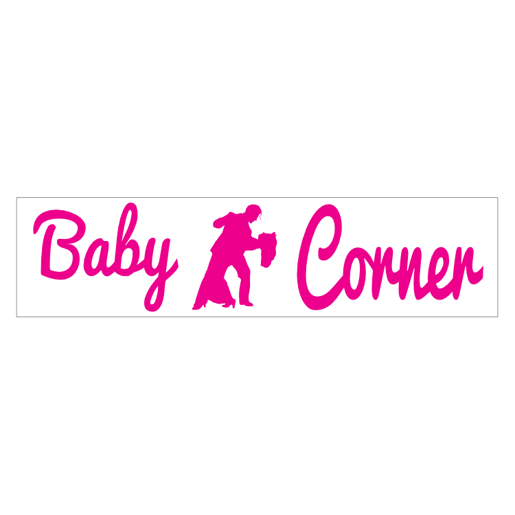 Baby Corner Customizable Bumper Sticker