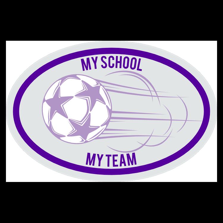 Custom Shooting Soccer Ball Oval