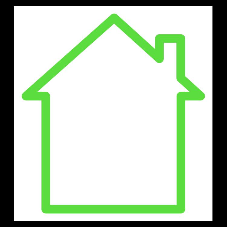 QR Code House Template