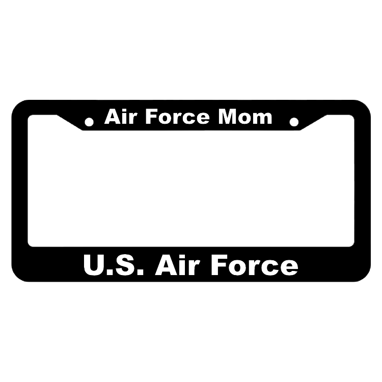 Air Force Mom United States Air Force License Plate Frame