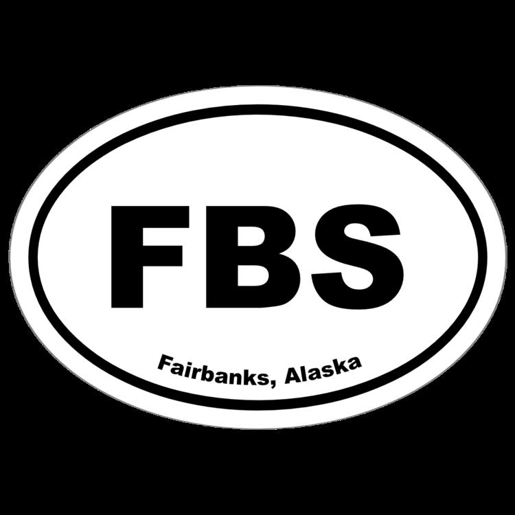 Fairbanks, Alaska Oval Stickers