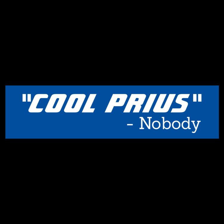 Cool Prius Customizable Bumper Sticker