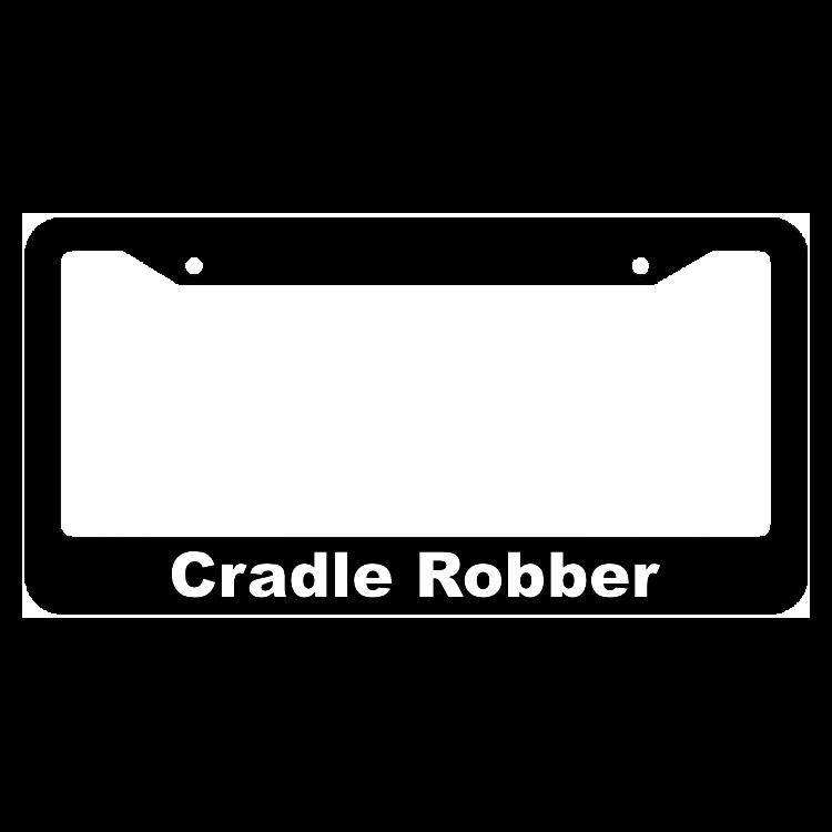 Cradle Robber License Plate Frame