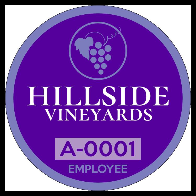 Circle Employee Parking Permit Sticker