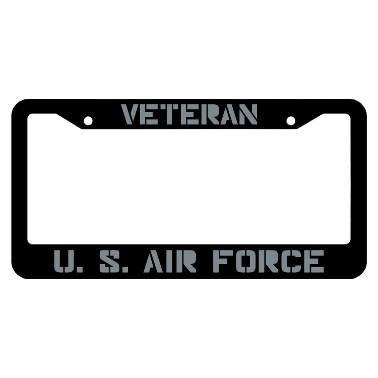Veteran United States Air Force License Plate Frame