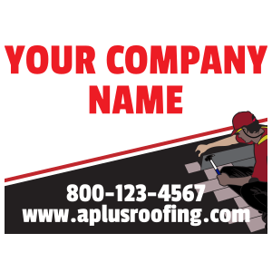 Roofing Magnet Template