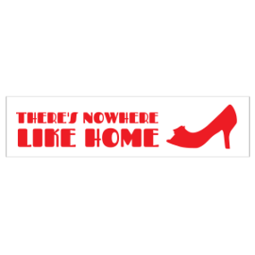 Nowhere Like Home Customizable Bumper Sticker