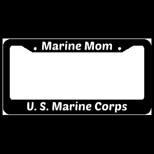Marine Mom United States Marine Corps License Plate Frame
