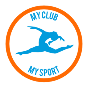 Custom Simple Jumping Gymnast Circle Sticker