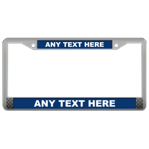 Custom Die Cast Zinc Antique Pewter Frame with Raised Letters