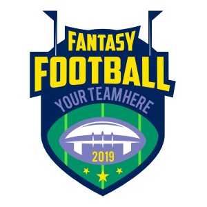 Custom Fantasy Football Team Sticker