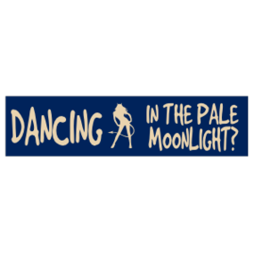 Pale Moonlight Customizable Bumper Sticker