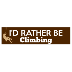 I'd Rather Be Climbing