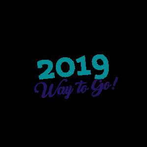 Custom 2019 Graduation Way to Go Sticker