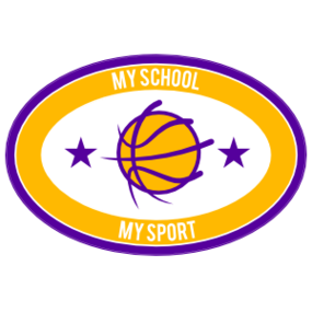 Custom Oval with Stars Basketball Sticker