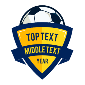 Custom Triangle Soccer Sticker