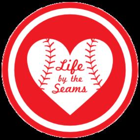 Custom Life by the Seams Circle Magnet