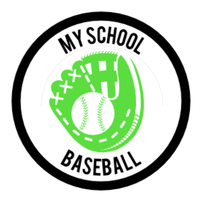 Custom Baseball Mitt Circle Sticker