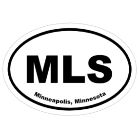 Minneapolis, Minnesota Oval Stickers