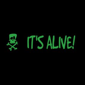 It's Alive! Customizable Bumper Sticker