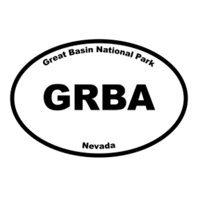 Great Basin National Park Oval Sticker