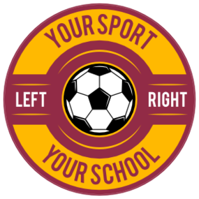 Custom Screw Top Circle Soccer Sticker