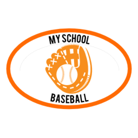 Custom Baseball Mitt Oval Sticker