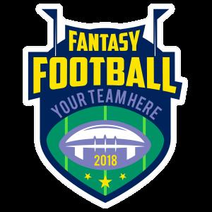 Custom Fantasy Football Team Sticker
